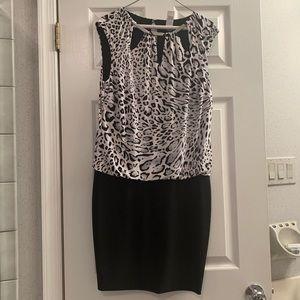 Like new Leopard dress size M